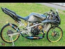 Motor Rr Modif by Modifikasi Motor Kawasaki Rr R Simpel Tapi Keren