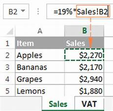 excel reference to another sheet or workbook external