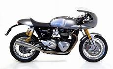 Pro Racing Exhaust System By Arrow Triumph Thruxton R