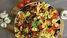 Schneller Gem 252 Se Pasta Salat Mit Farfalle Resteverwertung