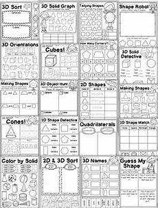 3d shapes worksheet early years 1107 grade 2d and 3d shapes worksheets by my teaching pal tpt