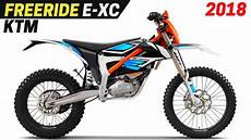 new 2018 ktm freeride e xc electric enduro comes with a
