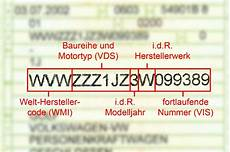 Fahrzeug Ident Nummer Mercedes