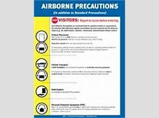 cdc isolation signs printable