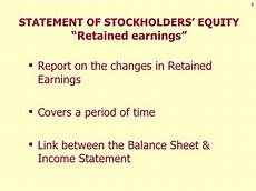 formal financial statements income statement