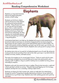 animal reading comprehension worksheets 14286 comprehension sheets on animals aussie childcare network