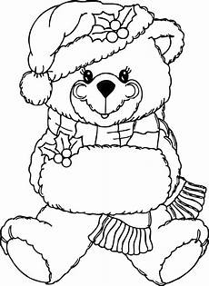 Ausmalbilder Weihnachten Teddy Free Printable Teddy Coloring Pages For
