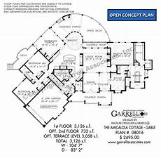 amicalola cottage house plan amicalola cottage gable 08016 garrell associates inc