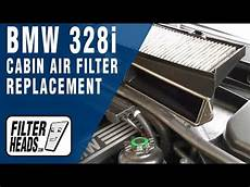 how to replace cabin air filter bmw 328i