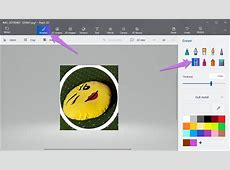 how to remove background in paint