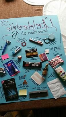 ideen zum 18 18 geburtstag geschenk selbstgemacht geschenke zur