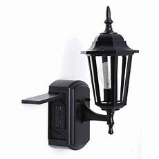 outdoor wall light with outlet impressive outdoor wall lights with built in outlet ideas
