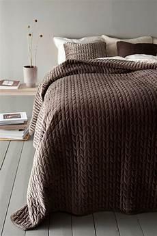 tagesdecke einzelbett tily tagesdecke einzelbett 180x260 cm braun