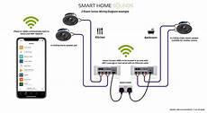 sonos ceiling speaker wiring diagram smart home sounds