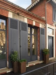 renovation volet bois porte fen 234 tre aluminium avec traverse haute gamme