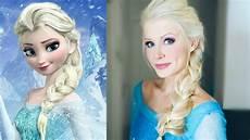 Elsa From Frozen Hair Tutorial Easy