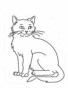 Ausmalbilder Siamkatze Ausmalbild Sitzende Katze Zum Ausdrucken