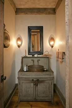 meuble salle de bain rustique id 233 es d 233 co salle de bain rustique confort et chaleur en un