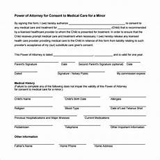 sle medical power of attorney form 10 free documents in pdf word