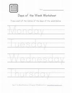 days of the week worksheet cut and paste the days in order homeschool pinterest