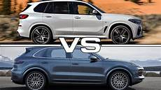 2018 vs 2019 porsche cayenne 2019 bmw x5 vs 2019 porsche cayenne technical