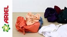 Wäsche Waschen Sortieren - how to sort your laundry before washing ariel
