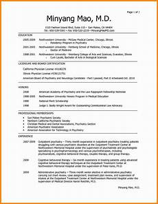 resume format sle in pdf 9 cv template for doctors theorynpractice