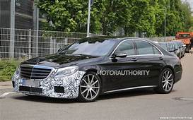 2018 Mercedes AMG S63 Spy Shots