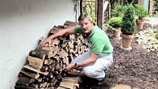Holz Stapeln Ideen - hark tipps tricks holzlagerung
