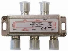 connexion antenne tv r 233 partiteur tv sat pour connecter jusqu 224 2 d 233 codeurs