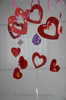 herzmobile anleitung zum selbermachen valentinstag