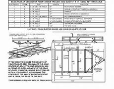 build your own trailer kit utility trailer kit for single tandem axle trailers chion
