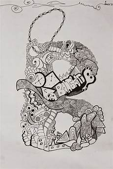 Koleksi Gambar Doodle Huruf A Sai Z Doodlegaleri