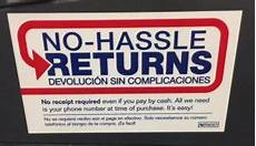 lowes return policy store return policy