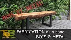 banc de bois bricolage rapide comment fabriquer un banc en bois et