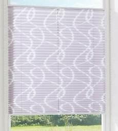 klemm plissee grau gemustert nizza lichtschutzrollo 40