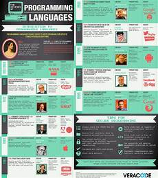 language history history of programming languages infographics