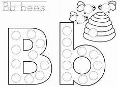 letter b worksheets free printables 23024 do a dot letter b printable with images alphabet worksheets preschool
