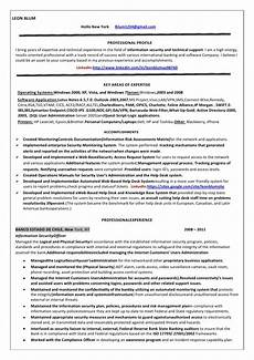 resume information security oficer information security officer internet resume blum copy