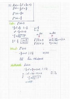 extremstellen wendepunkte und nullstellen f 252 r f x 1 5 x