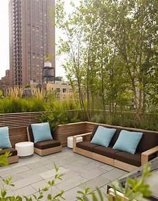 Terrasse Begr 252 Nung Auch Als Eine Sichtschutz Bal Co