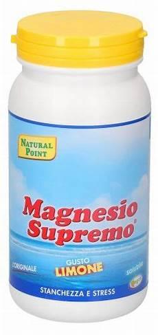 magnesio supremo ai bambini magnesio supremo limone point
