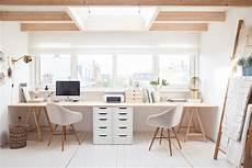 2 Person Home Office Desk