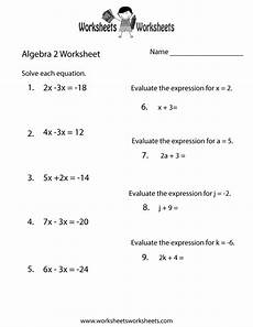 algebra review worksheets for calculus 8564 free printable algebra 2 review worksheet