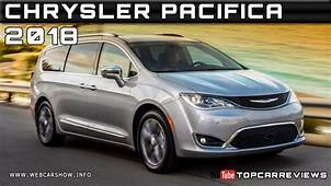 2018 CHRYSLER PACIFICA Review Rendered Price Specs Release