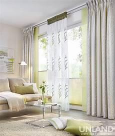 Unland Palma Greenery 001 Vorhang Fensterideen