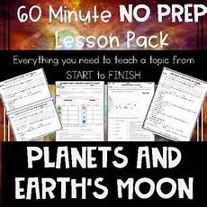 earth science half worksheet 13329 planets and earth s moon no prep lesson earth and space science lesson science standards