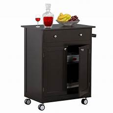 Kitchen Island Cart With Cabinets by Rolling Kitchen Cart Portable Wood Island On Wheels With