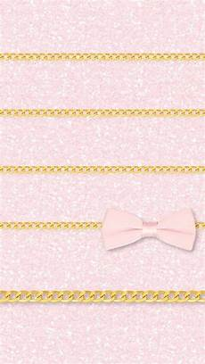Home Screen Gold Wallpaper by Pink Girly Glitter Ribbon Gold Iphone Wallpaper Home
