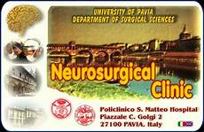 s matteo pavia neurosurgical clinic department of neurosurgery